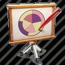 chart, presentation icon