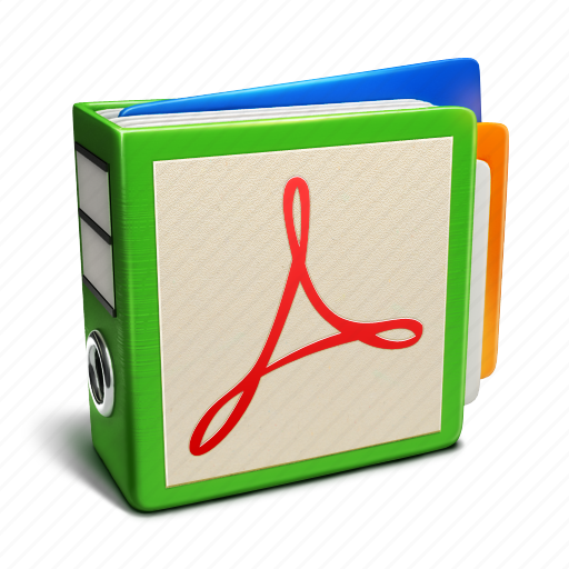 binder, documents icon
