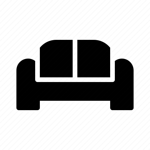 building, couch, estate, living, real, room, sofa icon