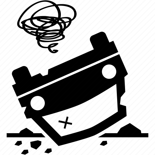 accident, car icon