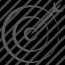 bullseye, dartboard, objective, sports, target board