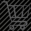 cart, handcart, pushcart, shopping trolley, wheelbarrow