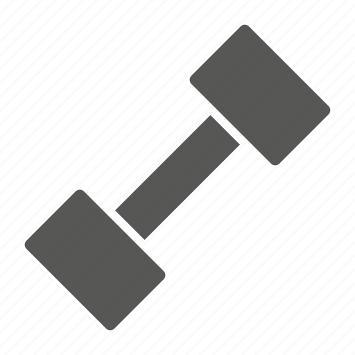 dumbbell, exercise, fitness, gym, weightlifting icon