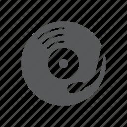 dj, music, turntable icon