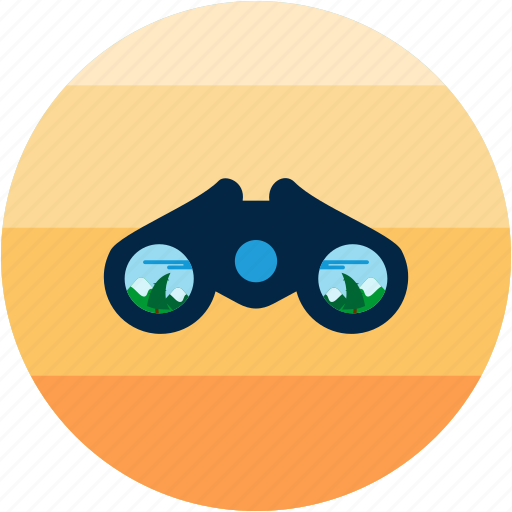 activities, bird, forest, recreational, search, watch, watching icon