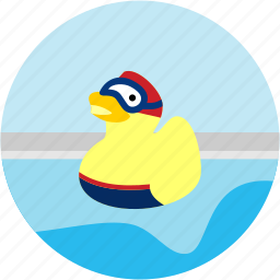 activities, activity, duck, goggles, recreational icon