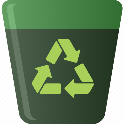 bin, ecology, environment, environmental, recycle, recycle bin, recycling icon