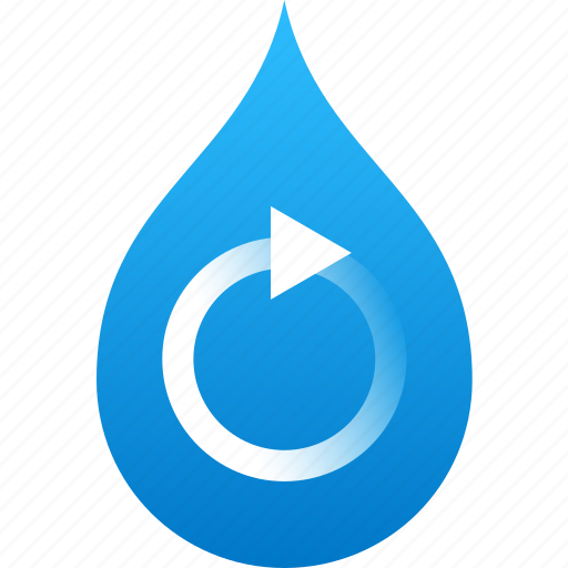 clean, ecology, environmental, pollution, recycle, sanitation, water icon