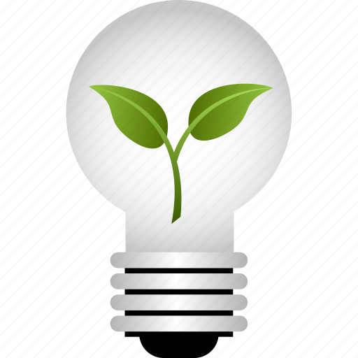 bulb, energy saving, environmental, go green, idea, lightbulb icon