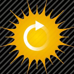 ecology, energy, environmental, recycle, solar, solar power, sun icon