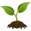 ecology, environmental, green, grow, growth, plant, tree icon