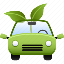 car, ecology, electric, environment, environmental, green, vehicle icon