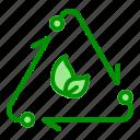 arrow, eco, recycle, waste, zero