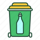 glass, recyclable, waste, recycling, garbage, sorting