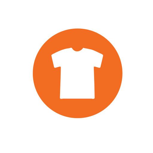 clothing, collection, recycling, textiles icon