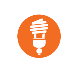bulb, bulb disposal, cfls, collection, household hazardous waste, lightbulb, recycling icon