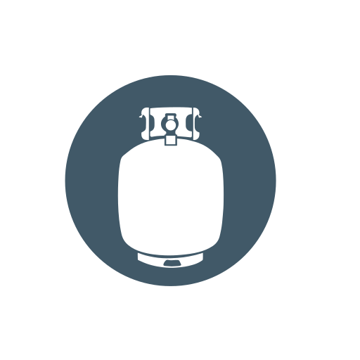 collection, propane, propane tank, recycle, scrap metal icon