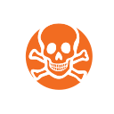 collection, toxic, chemical, hazardous material, household waste icon
