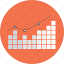 bar graph, bars chart, business, praphic, presentation, statistics, stats icon
