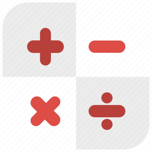 app icon, calculation, calculator, round icon icon
