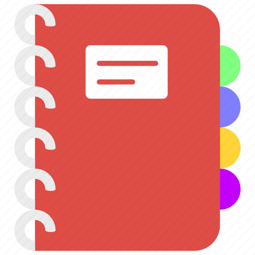 book, diary, documents, note, page, text icon