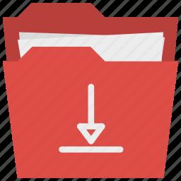 download, folder, organiser, organizer icon