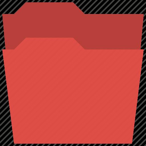 empty, empty folder, folder, organizer icon