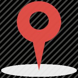 locate, location, pin, pointer icon