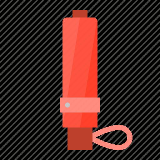 folding umbrella, parasol, protection, red, summer, sunshade, umbrella icon