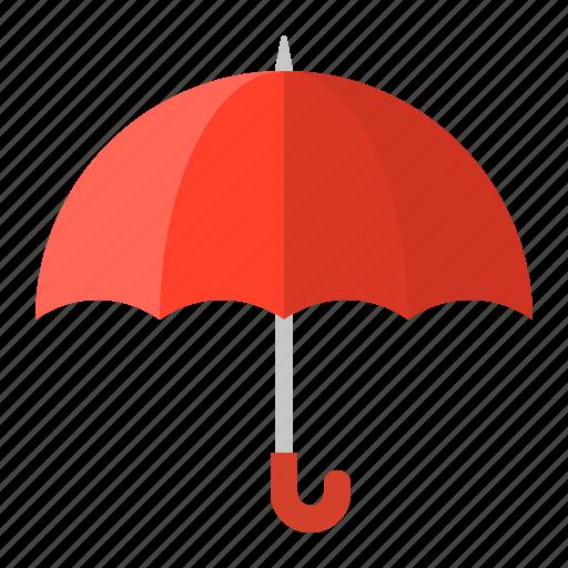parasol, protection, red, summer, sunrise, sunshade, umbrella icon