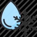 cold, drop, fridge, refrigerator, snow, snowflake, water