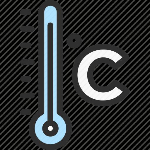 Celsius, cold, fridge, refrigerator, termometr icon - Download on Iconfinder