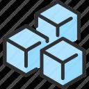 cold, cube, fridge, ice, refrigerator icon