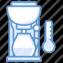 coffee, kitchen, machine, thermometer