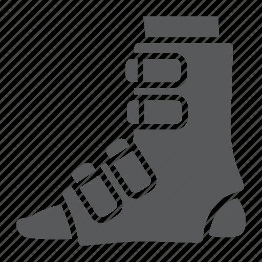 Bandage, broken, foot, leg, medical, orthopedic, splint icon - Download on Iconfinder