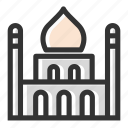 building, islam, islamic, mosque, prayer, relicons, temple icon