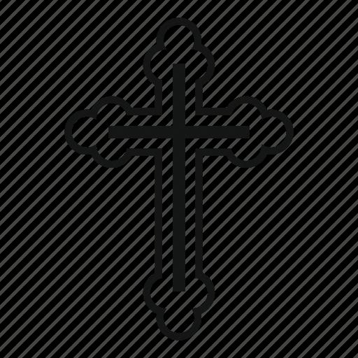 christianity, cross, crucifix, religion, religious, spirituality icon