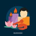 buddha, buddhism, meditation, religion, spiritual, zen icon