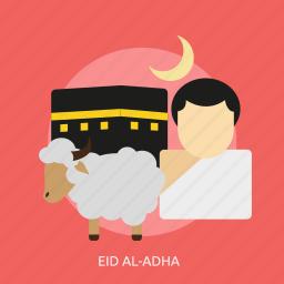 adha, celebration, eid, eid al-adha, islamic, muslim, religion icon