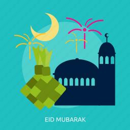 celebration, eid mubarak, muslim, ramadan, religion icon