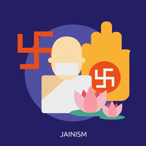 culture, god, jainism, religion icon