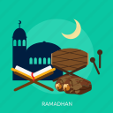 celebration, islamic, kareem, mubarak, ramadhan, religion icon