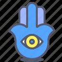 eye, jew, seer, sight, vision icon