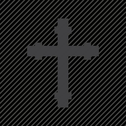 cross, religion, religious, sign icon