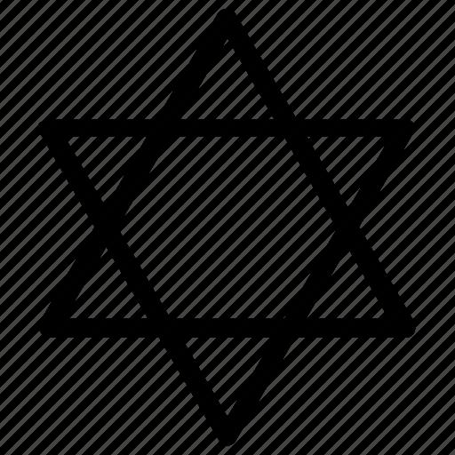 jewish, judaism, religion icon