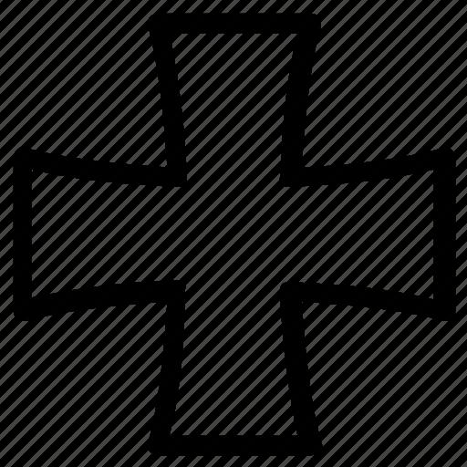 cross, religion icon