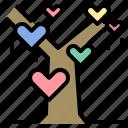 tree, love, life, nature, environment