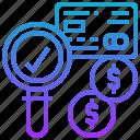 appove, check, credit, money, qualification icon