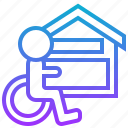 accessibility, equal, housing, occasion, opportunity icon