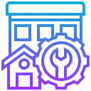 fix, free, home, renovation, repair icon